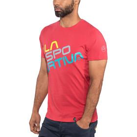 La Sportiva Square T-Shirt Herren cardinal red